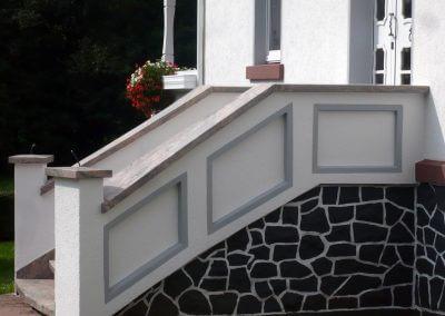 Außenputz Treppe